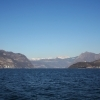 Panorama on the Lake Iseo